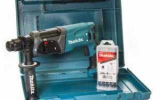 Перфоратор makita hr2470 (отличия от hr2470x15, hr2470ft) sds-plus, 780w
