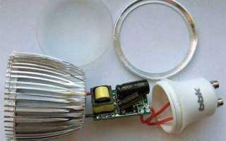 Причины мигания и тления светодиодных ламп