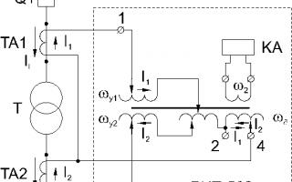 Защита трансформаторов распределительных сетей — дифференциальная токовая защита
