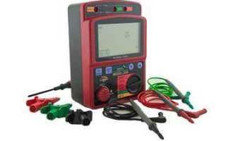 Измерение электрического сопротивления постоянному току