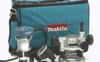 Особенности и характеристики кромочных фрезеров makita