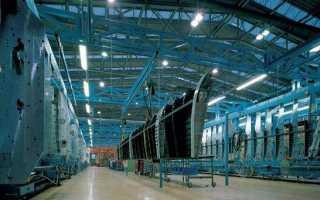 Освещение металлургических заводов