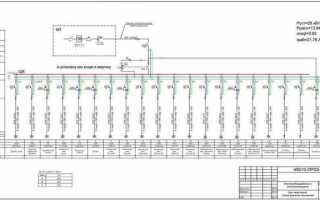 Однолинейная схема электроснабжения: выполняем электротехнические работы по правилам