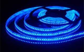 Подключение и управление светодиодной лентой к arduino