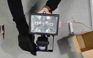 Прожектор галогенный: установка и схема подключения. 110 фото особенностей применения прожекторов