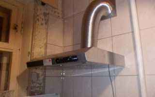 Как установить вытяжку на кухне своими руками