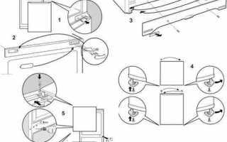 Как перевесить дверь холодильника: советы для новичков
