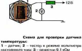 Как проверить термопару при помощи мультиметра