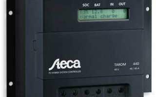 Контроллеры заряда для солнечных батарей