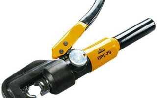 Клещи для обжима наконечников проводов: виды инструмента и способы применения