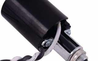 Как подсоединить провода к патрону лампы?