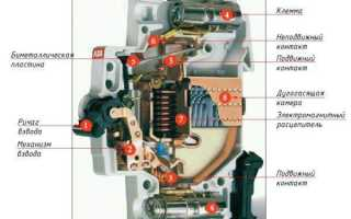 Автомат c25 автоматический выключатель