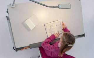 Как выбрать настольную лампу для школьника чтобы сохранить зрение