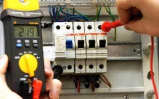 Замена автоматического выключателя (защитного автомата)