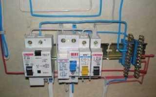 Применение противопожарного узо для защиты проводки от возгорания