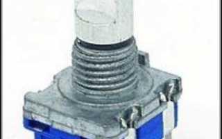 Вечный энкодер (валкодер) с устойчивыми положениями из шагового двигателя