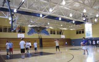 Требования к освещению спортзалов светодиодными светильниками