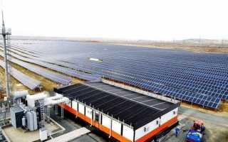 Особенности применения солнечных электростанций