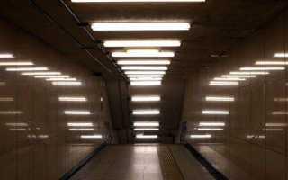 Светильники люминесцентные потолочные двухламповые