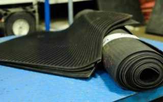 Назначение резиновых диэлектрических ковриков