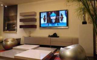 Как правильно повесить телевизор на стену