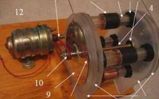Магнитный двигатель своими руками