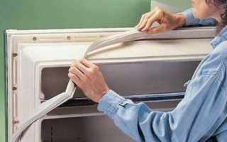 Как отремонтировать или поменять уплотнительную резинку на двери холодильника? правила ухода
